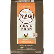 Nutro Grain-Free Puppy Farm-Raised Chicken, Lentils & Sweet Potato Dry Dog Food, 24-lb bag