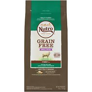 Nutro Grain-Free Small Bites Adult Pasture-Fed Lamb, Lentils & Sweet Potato Dry Dog Food, 4-lb bag
