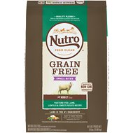 Nutro Grain-Free Small Bites Adult Pasture-Fed Lamb, Lentils & Sweet Potato Dry Dog Food, 24-lb bag