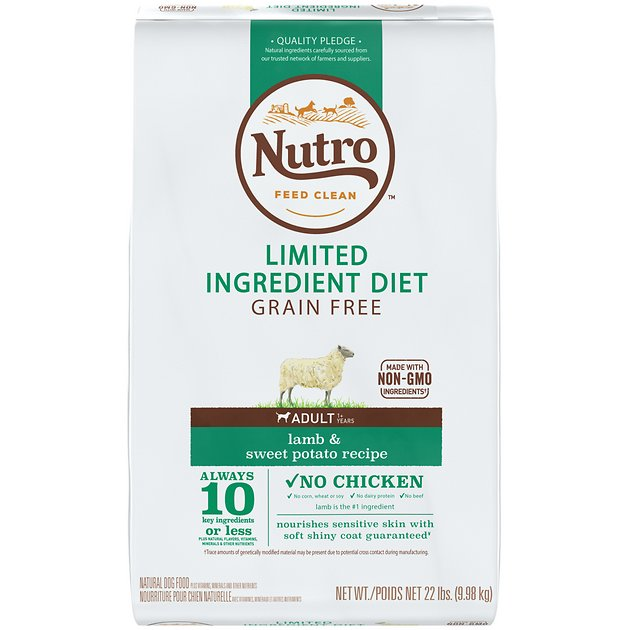 Nutro Limited Ingredient Grain Free Dog Food