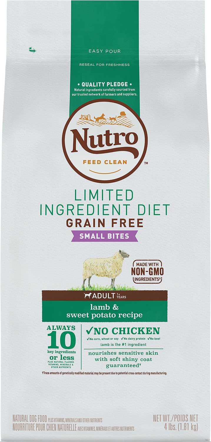 Nutro Limited Ingredient Diet Grain Free Small Bites Adult