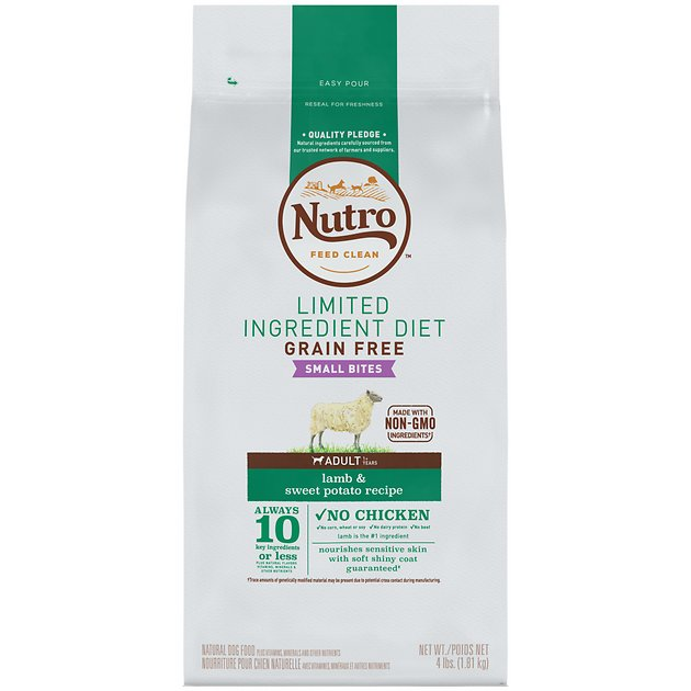 NUTRO™ Grain Free Dog Food provides your dog with a natural, gluten-free formula. Our premium formula is perfect for dogs with sensitivities. Toggle navigation. Shop Dogs. Find Your. pet Food. Match. Sign up for e-mails from the NUTRO™ brand. Go.