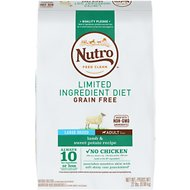 Nutro Limited Ingredient Diet Grain-Free Adult Large Breed Lamb & Sweet Potato Recipe Dog Food, 22-lb bag