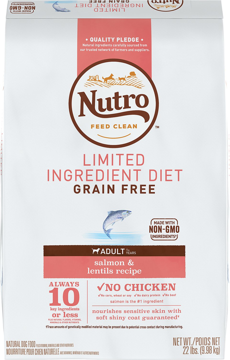 Nutro Limited Ingredient Diet Grain Free Adult Salmon