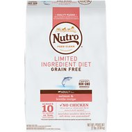 Nutro Limited Ingredient Diet Grain-Free Adult Salmon & Lentils Recipe Dry Dog Food, 22-lb bag