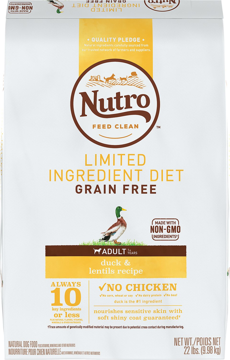 Nutro Limited Ingredient Diet Grain Free Adult Duck