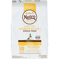Nutro Limited Ingredient Diet Grain-Free Adult Duck & Lentils Recipe Dry Dog Food, 22-lb bag