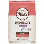Nutro Wholesome Essentials Small Bites Adult Salmon, Brown Rice & Sweet Potato Recipe Dry Dog Food, 30-lb bag