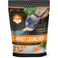 Buckeye Nutrition All Natural Carrot Crunchers Horse Treats, 4-lb bag
