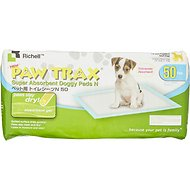 Richell Paw Trax Doggy Pads, 50 count