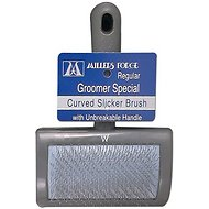 Millers Forge Unbreakable Style Slicker Brush, Regular
