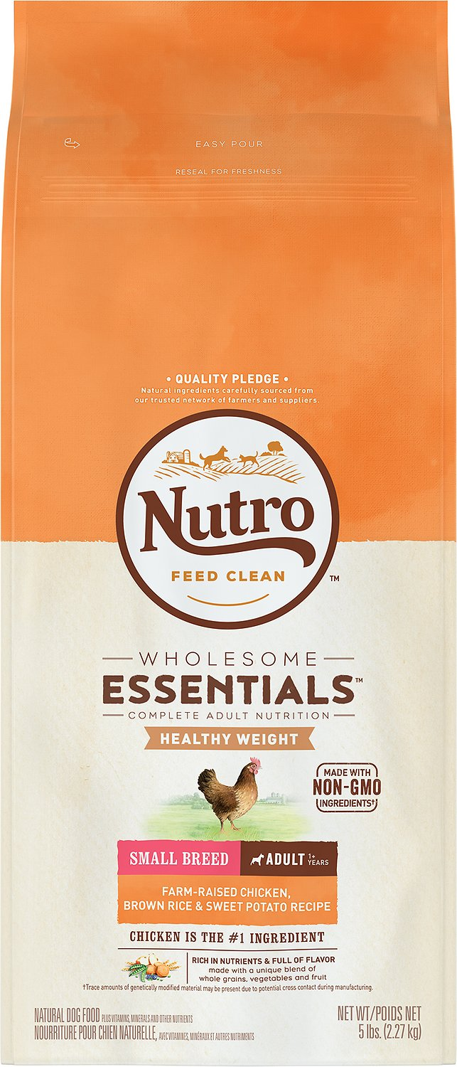 Nutro Small Breed Adult Weight Management Chicken Brown Rice