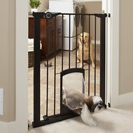 MyPet Tall Petgate Passage Gate with Small Pet Door, 36-in