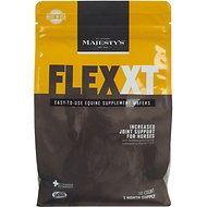 Majesty's Flex XT Wafers Increased Joint Support Horse Supplement, 30 count