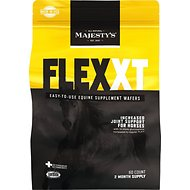 Majesty's Flex XT Wafers Increased Joint Support Horse Supplement, 60 count