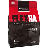 Majesty's Flex HA Wafers Joint Support Performance Horse Supplement, 60 count