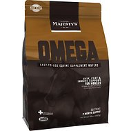 Majesty's Omega Wafers Skin, Coat & Immune Support Horse Supplement, 60 count