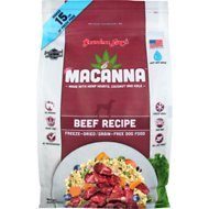 Grandma Lucy's Macanna Grain-Free/Freeze-Dried Beef Recipe Dog Food, 3-lb bag