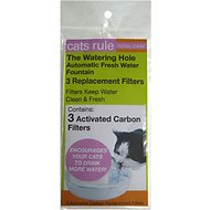 Cats Rule Water Hole Replacement Filters 3 Pack