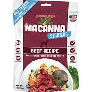 Grandma Lucy's Macanna Starters Beef Recipe Freeze-Dried Grain-Free Dog Treats, 6-oz bag