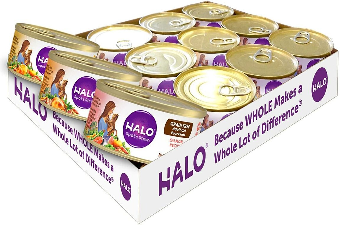 Halo Spot S Stew Canned Cat Food