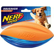 Nerf Dog Foam Squeaker Football Dog Toy, Medium
