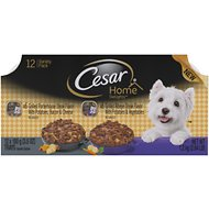 Cesar Home Delights Porterhouse Steak & Ribeye Steak Variety Pack Dog Food Trays, 3.5-oz, case of 12
