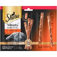 Sheba Meaty Tender Sticks Chicken Cat Treats, 5 count