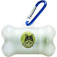 Pogi's Pet Supplies Poop Bag Dispenser + 15 Scented Waste Bags