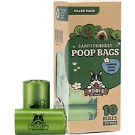 Pogi's Pet Supplies Poop Bags, Scented, 150 count