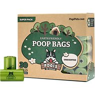 Pogi's Pet Supplies Poop Bags, Unscented, 450 count