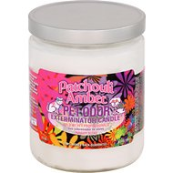 Pet Odor Exterminator Patchouli Amber Deodorizing Candle, 13-oz jar