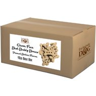 Exclusively Dog Grain-Free Best Buddy Bones Peanut Butter Flavor Dog Treats, 10-lb box