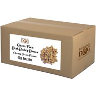 Exclusively Dog Grain-Free Mini Best Buddy Bones Cheesy Bacon Flavor Dog Treats, 10-lb box
