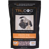 TruDog Feed Me Beef Grain-Free Freeze-Dried Dog Food, 14-oz bag