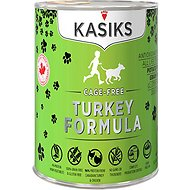 KASIKS Cage-Free Turkey Formula Grain-Free Canned Dog Food, 12.2-oz, case of 12