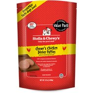 Stella & Chewy's Stella's Super Chicken Dinner Patties Raw Frozen Dog Food, 12-lb bag
