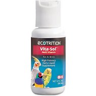 eCOTRITION Vita-Sol Multi Vitamin Daily Bird Supplement, 1-oz bottle