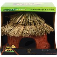 eCOTRITION Snak Shak Guinea Pig & Rabbit Natural Hide Away, Large