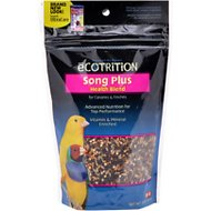 eCOTRITION Song Plus Health Blend Canary & Finch Bird Food, 8-oz bag