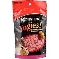 eCOTRITION Yogies Fruit Flavor Hamsters, Gerbils, Rats & Mice Treat, 3.5-oz bag