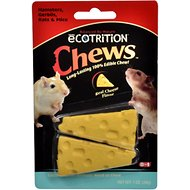 eCOTRITION Cheesie Chews Hamsters, Gerbils, Mice & Rats Treat, 1-oz