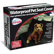 Pet Parade Waterproof Pet Seat Cover, Black