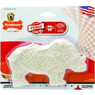 Nylabone DuraChew Dental Chew Chicken Flavored Rhino Dog Toy, Wolf