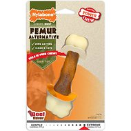 Nylabone DuraChew Femur Beef Flavored Bone Alternative Dog Chew Toy, Wolf