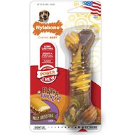 Nylabone DuraChew Flavor Frenzy Cheesesteak Flavored Bone Dog Toy, Wolf