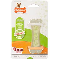 Nylabone FlexiChew Zen Bacon Flavored Dog Chew Toy, Petite