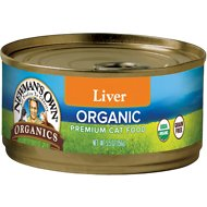 Newman's Own Organics Grain-Free Liver Canned Cat Food, 5.5-oz, case of 24