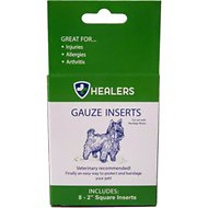 Healers Gauze Replacement Dog Wrap Inserts, Small, 8 count
