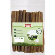 "Best Pet Supplies GigaBite Odor Free 6"" Bully Sticks Dog Treats, 25 count"